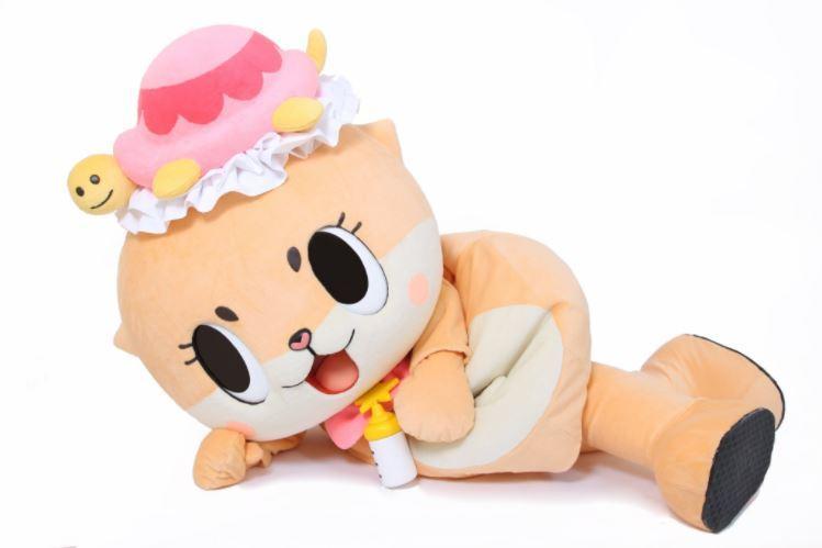 「ちぃたん☆」。愛くるしい笑顔が印象的だ(画像は「ちぃたん☆」の公式ツイッターアカウントより)