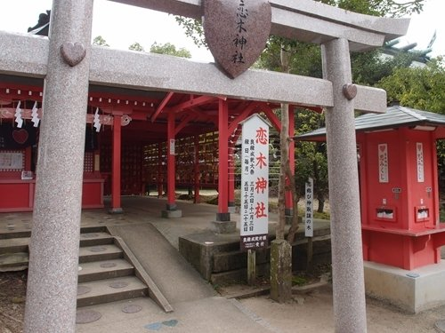 恋木神社(flickr.comより。Toshifukuokaさん撮影)