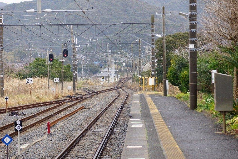 安房小湊駅(flickrより。撮影はume-yさん)