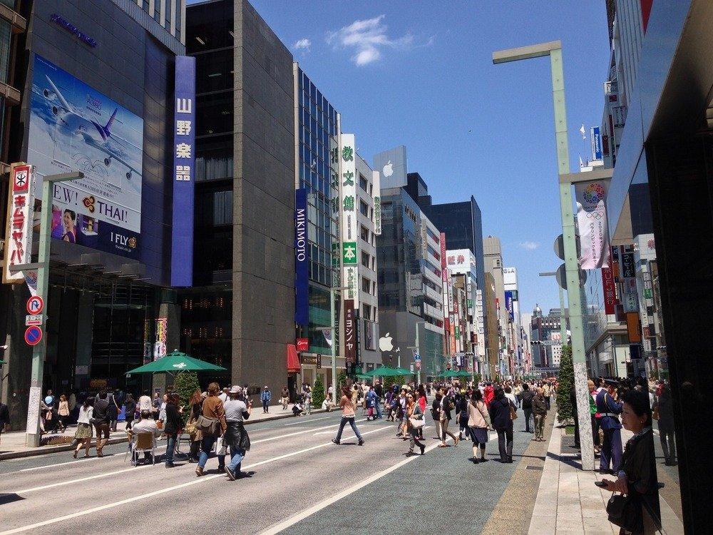 山野楽器銀座本店(画像はwikimedia commonsより。Kanesueさん撮影)