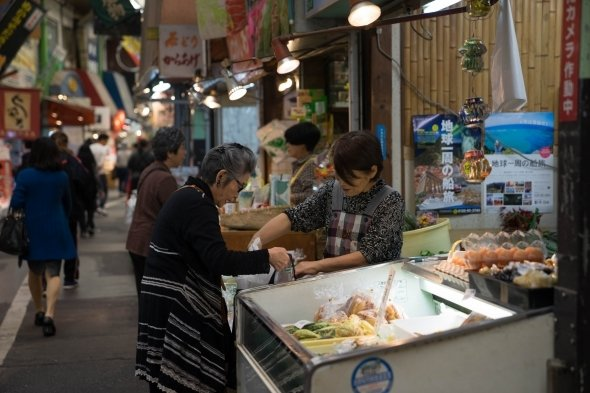 「北九州の台所『旦過市場』」