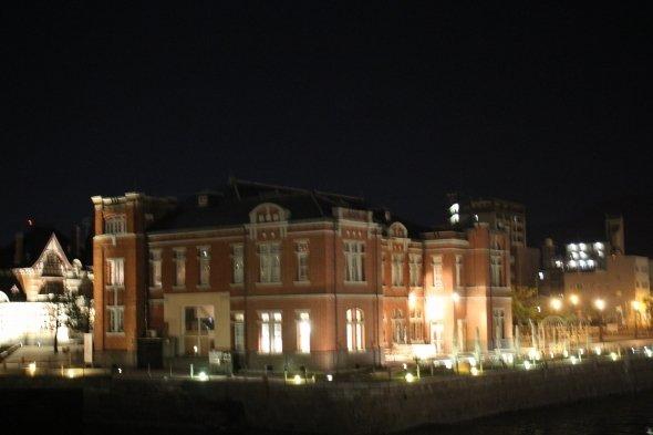 門司港レトロ地区 夜のライトアップ
