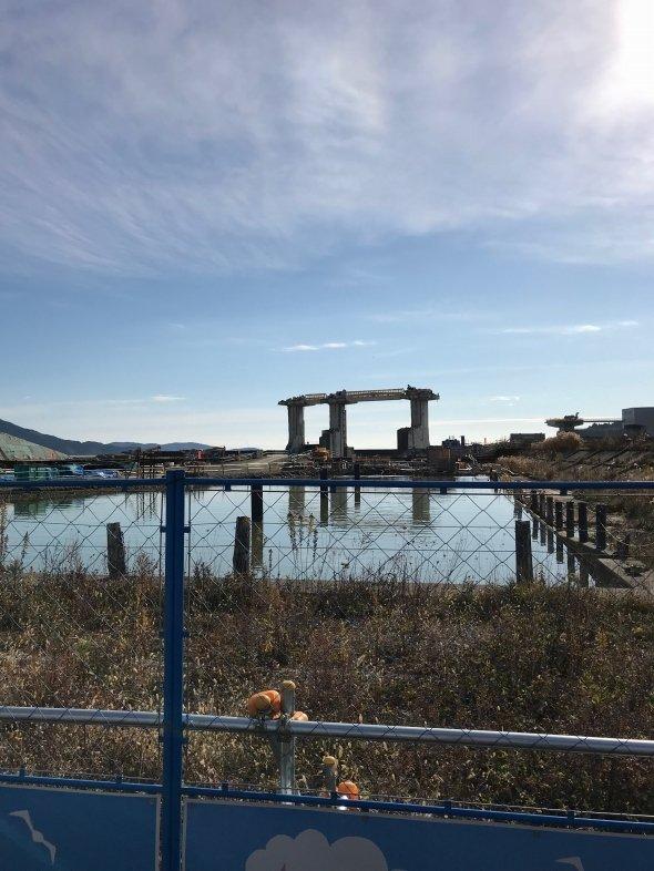 「奇跡の一本松」周辺は記念公園として整備される予定だ。