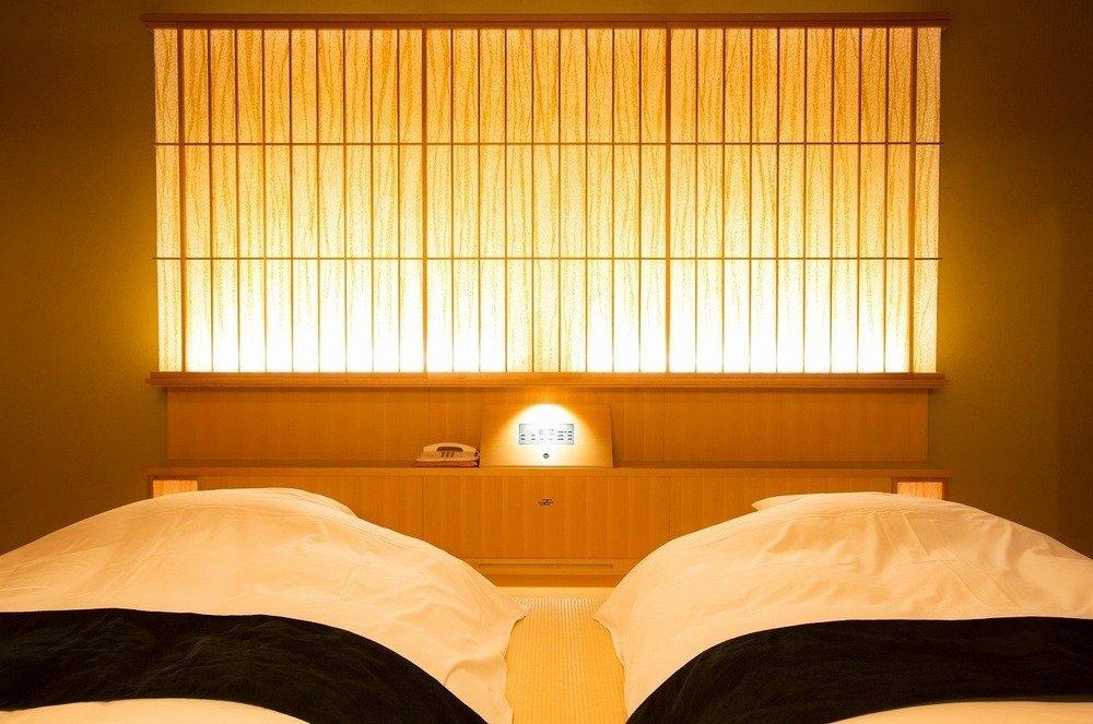 「古今」の客室イメージ。温かな光に包まれている(同)