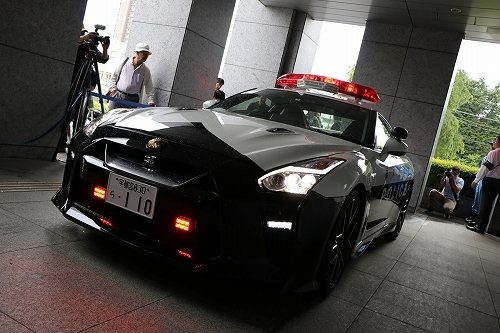 R35型GT-R(以下、日産自動車ニュースルームより)