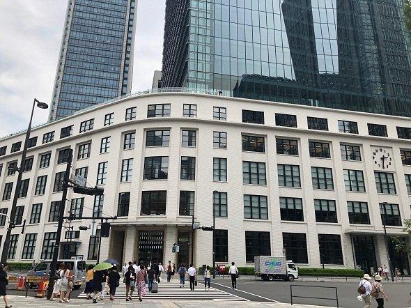 東京のど真ん中というか東京の目の前に蛇口があるらしい(2018年7月記者撮影)