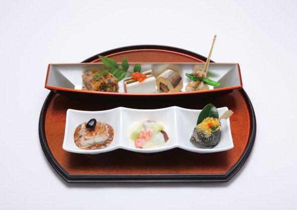 銅賞・かんぽの宿柳川「有明海の幸をやながわ名物『どんこ舟』に乗せて」