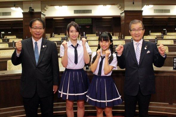 大阪府議会をNMB48がリサーチしちゃいます!