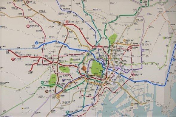 都内では10分歩けば地下鉄の駅があるといわれるほど