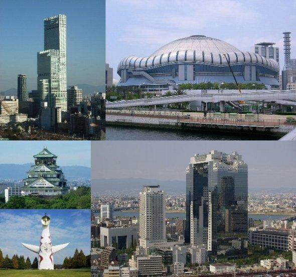 大阪というと何をイメージする?(画像はすべてWikimedia Commonsより)