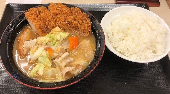 生姜焼きとん汁定食