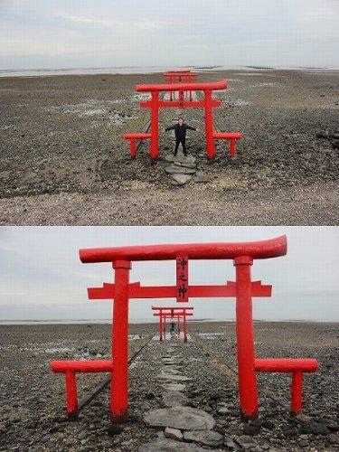 大魚神社・海中鳥居