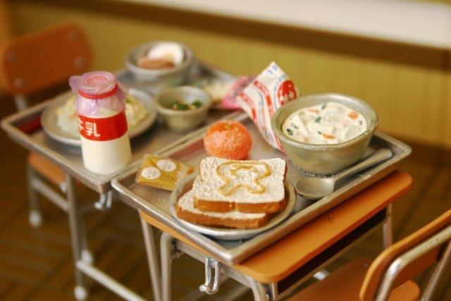 給食にも甲子園(画像はイメージ)