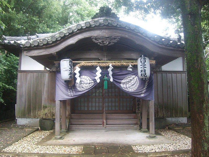 藤城神社(WikimediaCommonsより、Indiana joさん撮影)