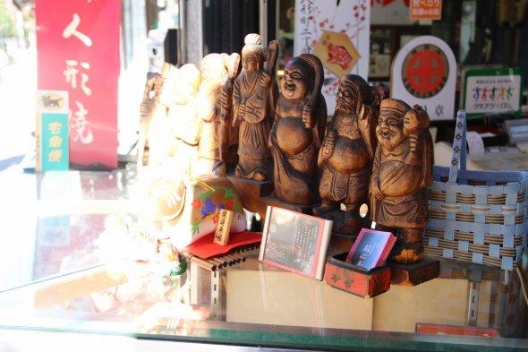 人形町の商売繁盛を支える七福神