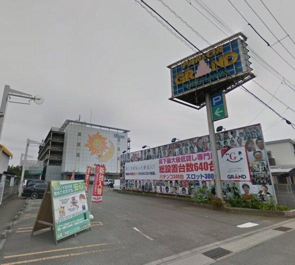グーグルストリートビューに残るパーラーグランド古川店 (C)Google