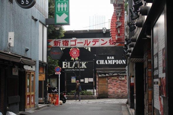 新宿ゴールデン街ではタイアップ企画を実施中