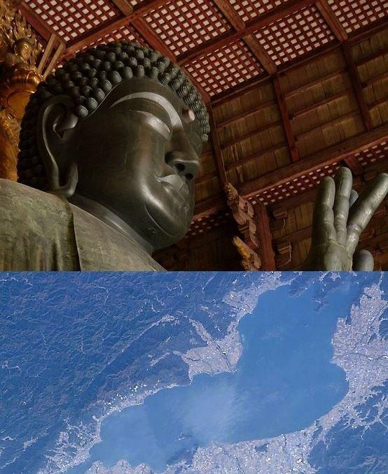 はて、奈良と滋賀のどんなところが埼玉に似ている?(画像はWikimedia Commonsより)