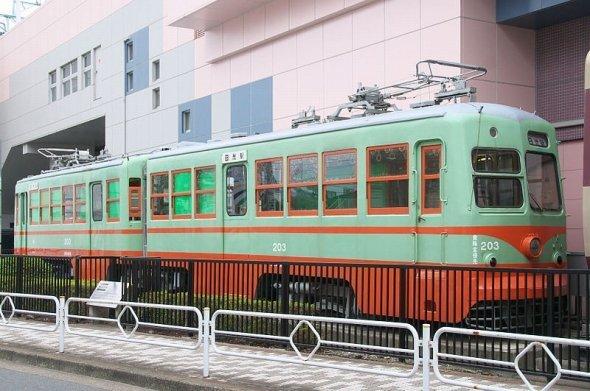 墨田区の東武博物館に保存されている日光軌道線の電車(Rs1421さん撮影、Wikimedia Commonsより)