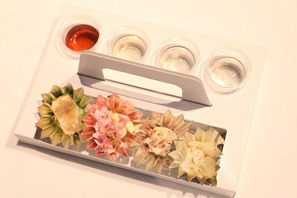 広島の日本酒とおつまみセット一例