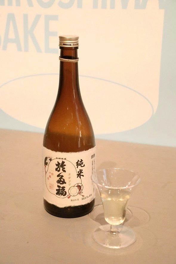 柄酒造「於多福」純米ティーカクテル