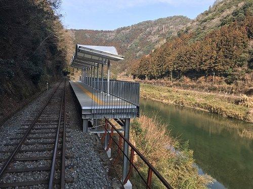 3月19日に開業する清流みはらし駅(以下画像は錦川鉄道提供)