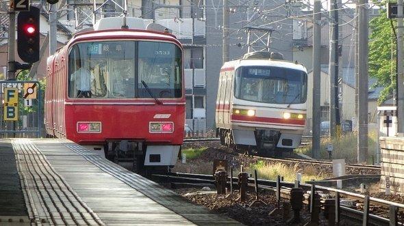ホームグラウンドゆえか、名鉄関係の制作が多い(名鉄6000系さん撮影、Wikimedia Commonsより)