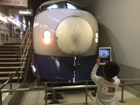国鉄時代の車両を、子どもの発想で撮影