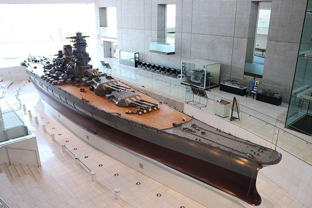 戦艦大和、1/10サイズの模型