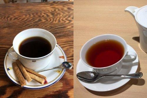 コーヒーと紅茶、どっちが好き?