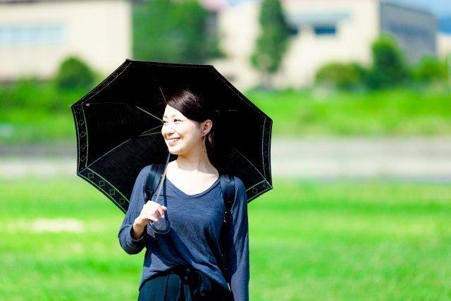 熱中症対策に、ぜひ日傘を(画像はイメージ)