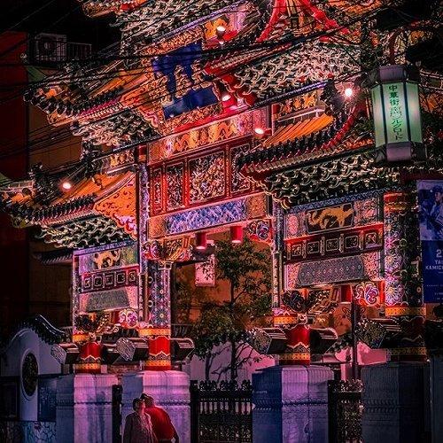 横浜中華街の写真(myview_injapanさんのインスタグラムより)