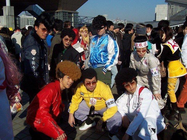 ヤンキー風ファッション(コスプレ)の人々(stormstillさん撮影、Flickrより)