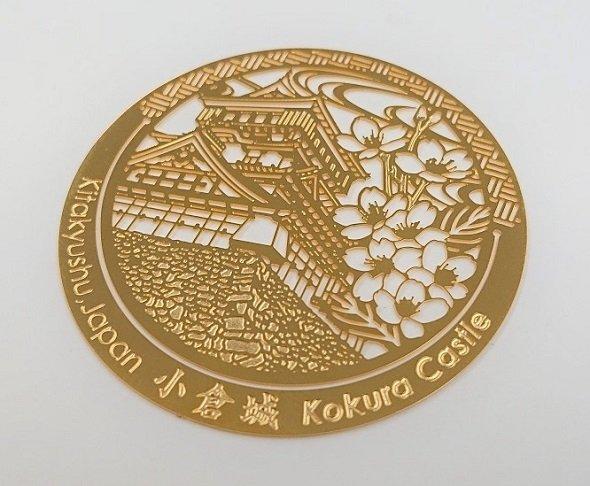 北九州市のマテリアルリサイクル技術から生まれた「金のしおり」(画像提供:北九州観光コンベンション協会、以下同)