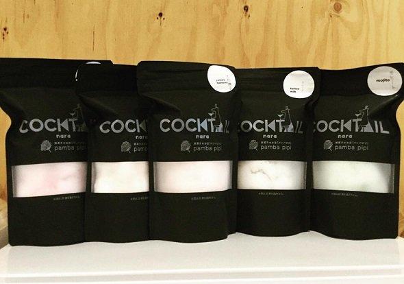 カクテル綿菓子(「pamba.pipi」公式フェイスブックページより)