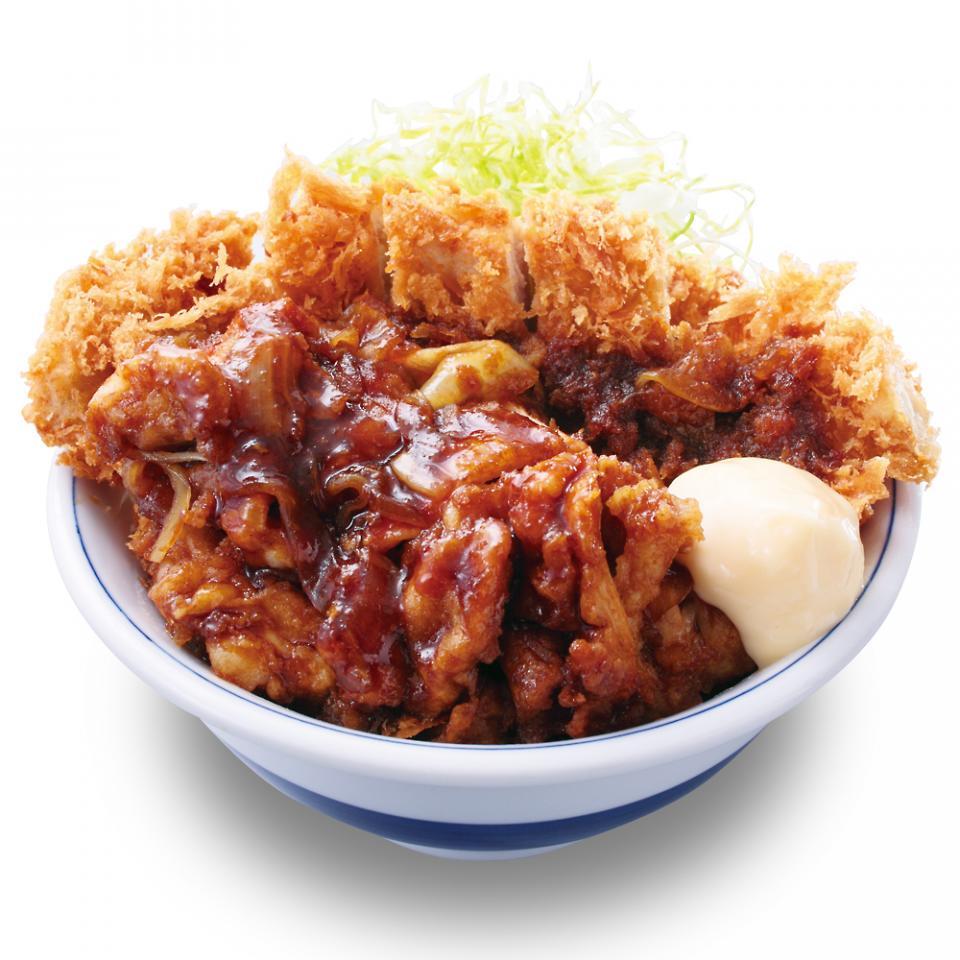 生姜からあげだれのチキンカツ丼(税込637円)