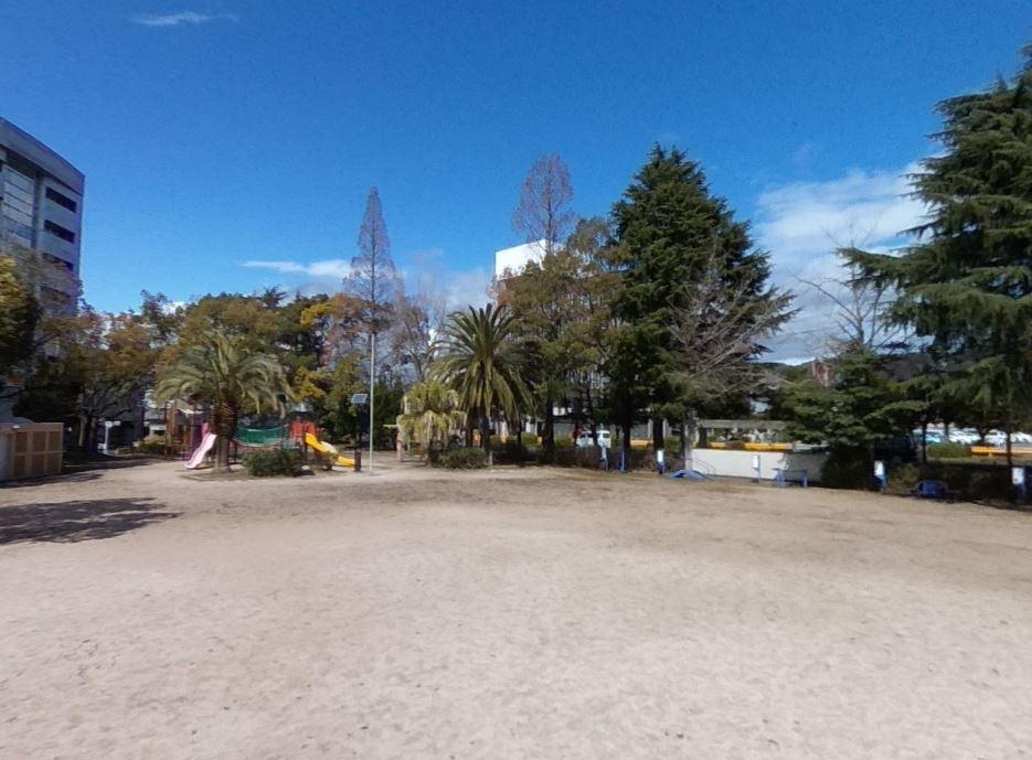 周南市の代々木公園(C)Google