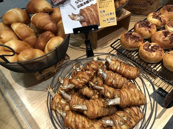店頭では、こんな感じで並べられている(画像は、すべて敷島製パン提供)