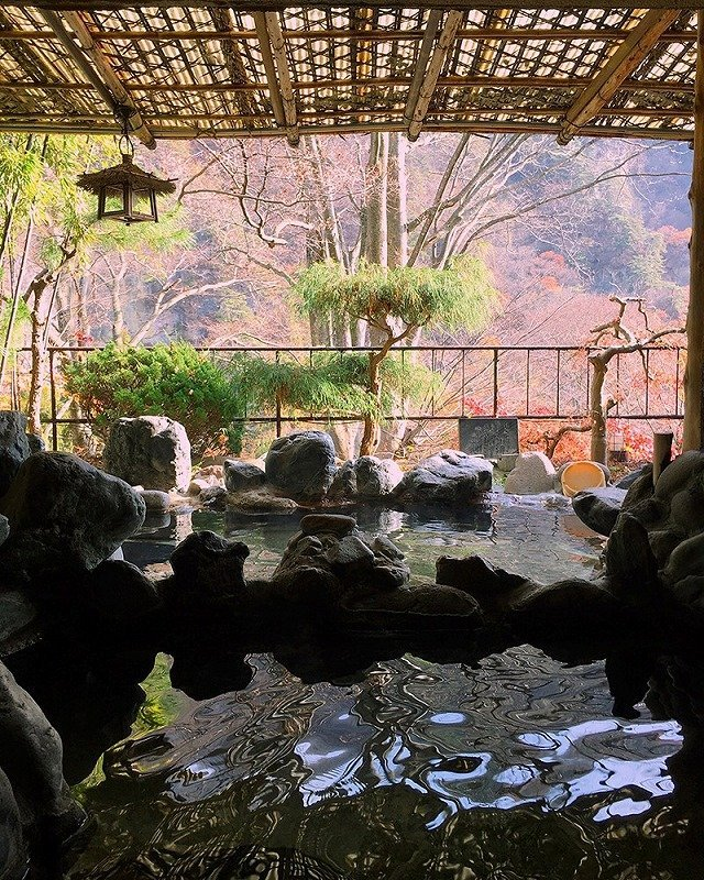 全国露天風呂百景に選ばれた「赤城の湯」