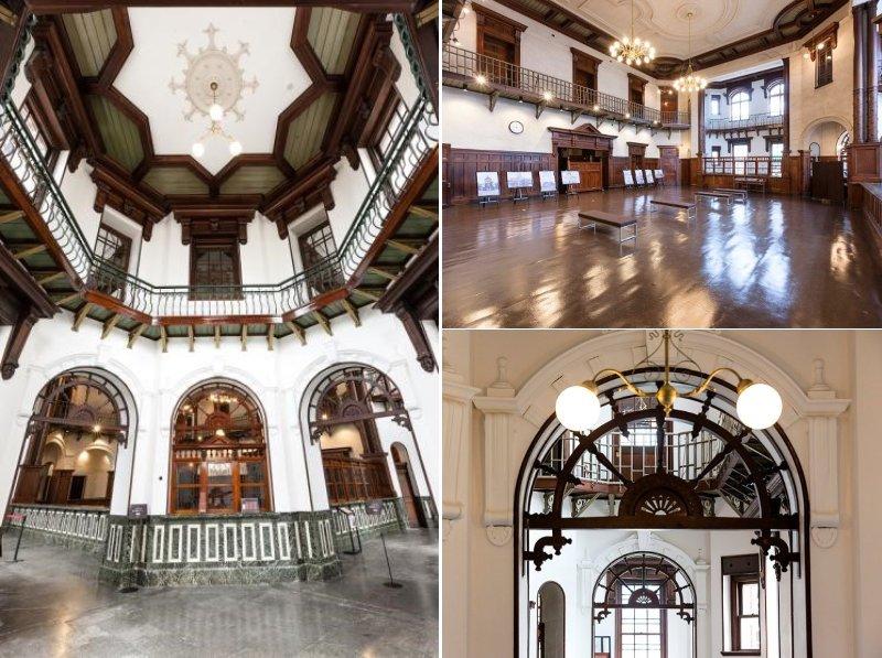 岩手銀行赤レンガ館の内部(写真提供はすべて、岩手銀行赤レンガ館)