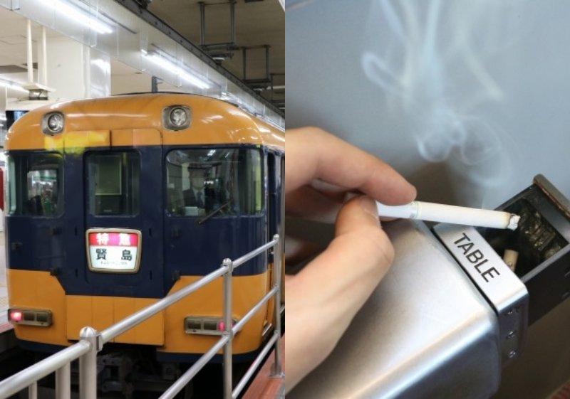 近鉄特急「ニュースナックカー」(画像は1月30日編集部撮影、以下同)