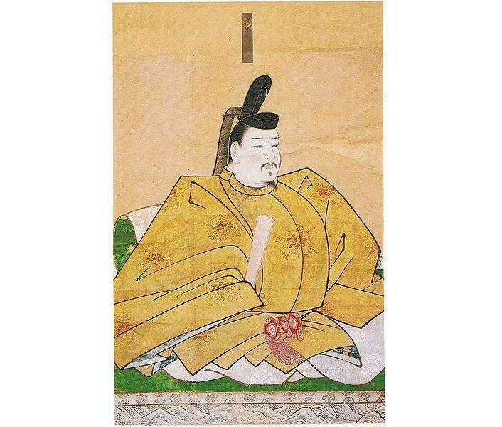平資盛像(伝狩野元信筆、赤間神宮所蔵、Wikimedia Commonsより)