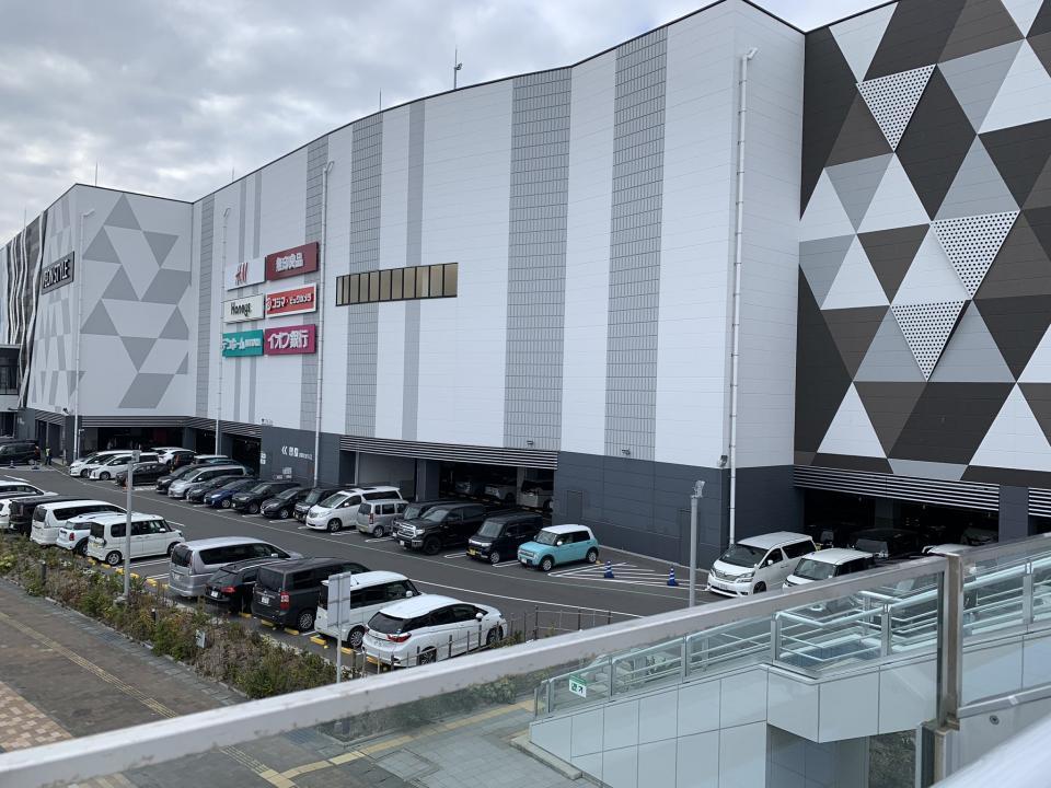 1階が駐車場(画像はでまえ‐T@d_itchouさん提供)