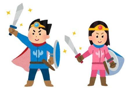 あなたは男性か女性のキャラクター、どちらの性別を選ぶ?(画像はイメージ)