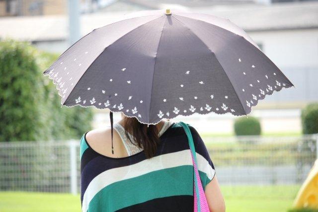 日傘の新しい活用法?(画像はイメージ)
