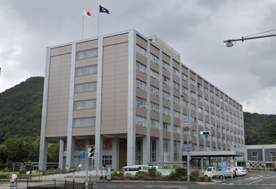 鳥取県庁(C)Google