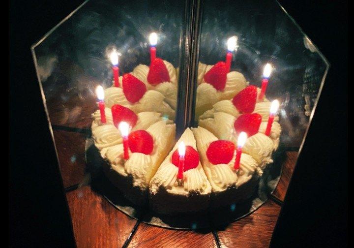 完全にホールケーキ(太陽さんのツイートより)
