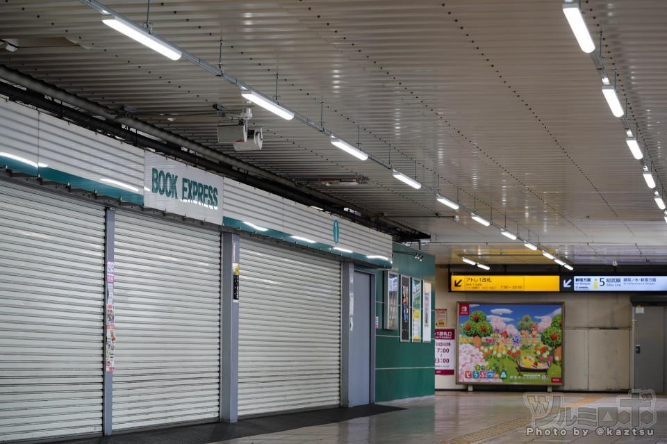 秋葉原駅の利用者には馴染みの風景だった(画像は全てツルミロボ@kaztsuさん提供)