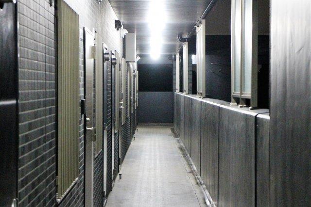 廊下から...(画像はイメージ)