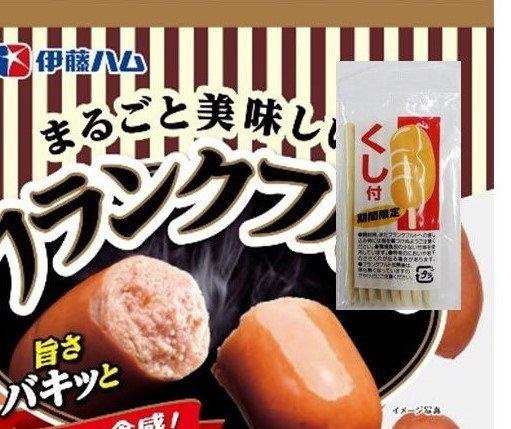 まるごと美味しいフランクフルト・串付き(画像はイメージ、伊藤ハム米久ホールディングス提供)